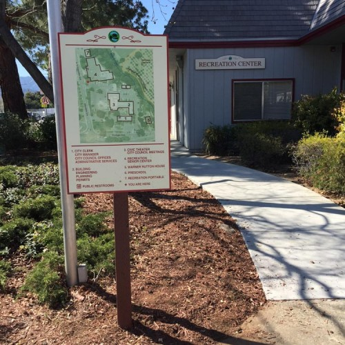 Directory Made in Pleasanton by Bennett Graphics