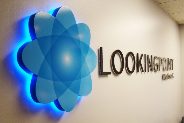 Lobby Sign by Bennett Graphics in Pleasanton, CA