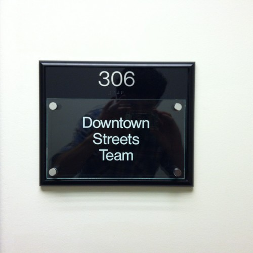 Suite Nameplate by Bennett Graphics in Pleasanton