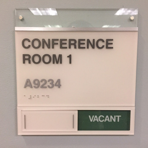 ADA Room Signs by Bennett Graphics in Pleasanton CA, Made for Ross