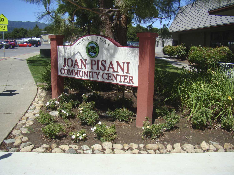 Monument sign for Saratoga City produced in Pleasanton