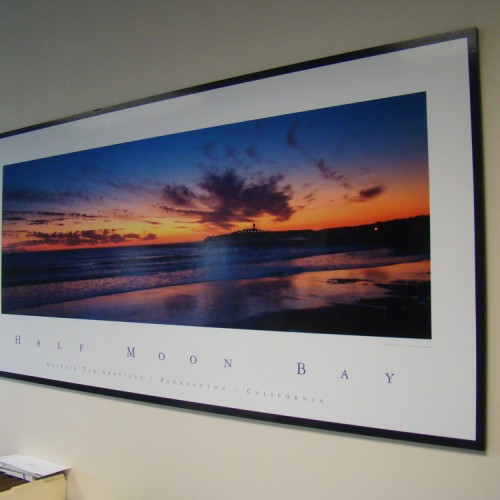 Vinyl Graphic photo printing and production in Pleasanton, CA