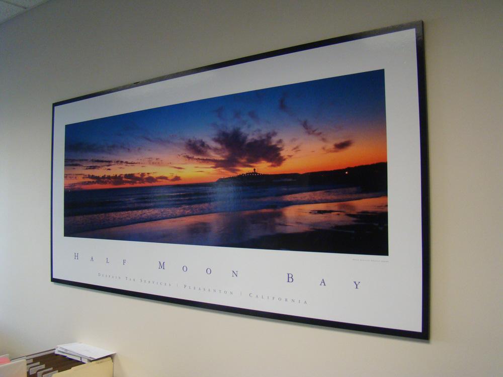 Vinyl Graphic photo printing and production in Pleasanton, CA