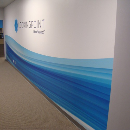 Wall Graphic design and installation in Pleasanton