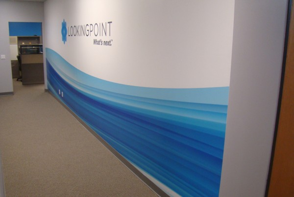 Wall Graphic design and installation in Pleasanton