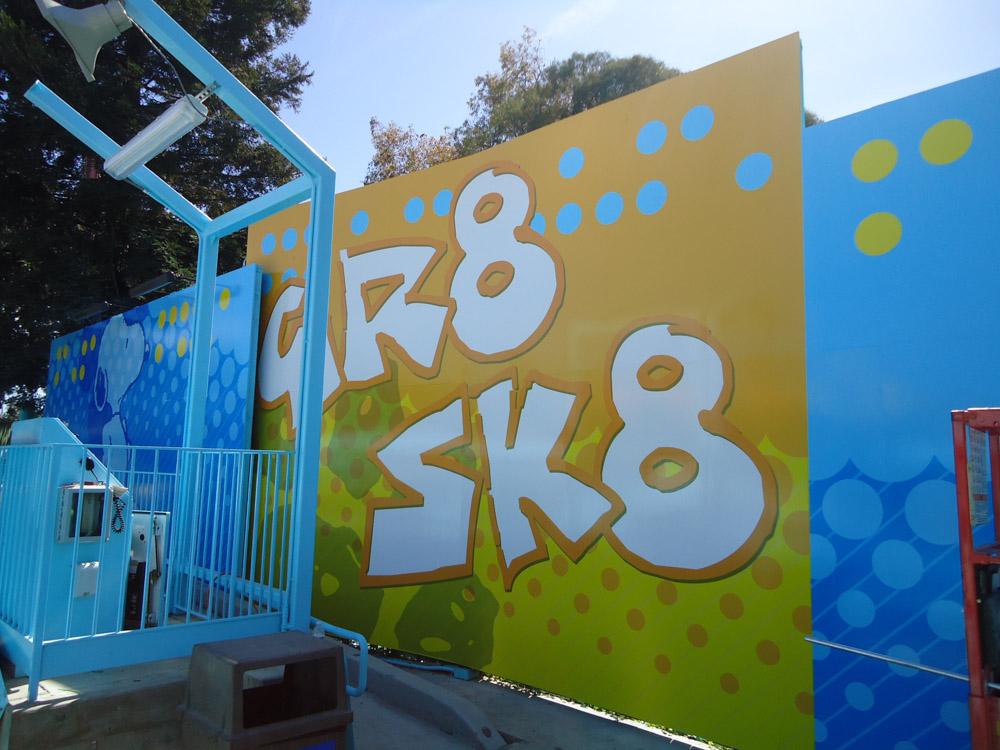 Wall graphic installation and design in Pleasanton, CA