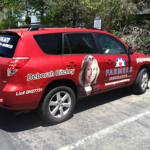 Vehicle wrap design and installation in Pleasanton