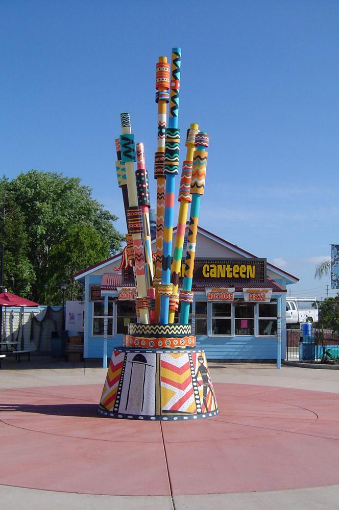 Special Theme Park Sign Design and installation in Pleasanton , CA