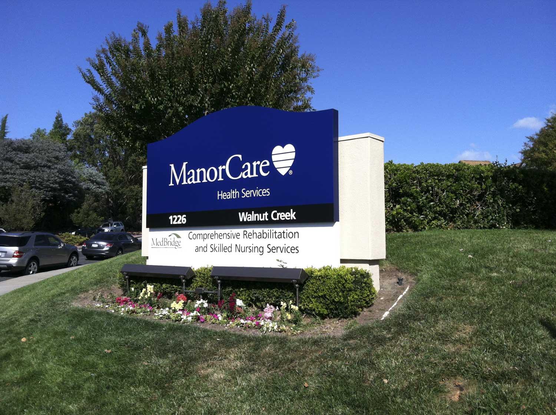 Monument Sign made in Pleasanton CA