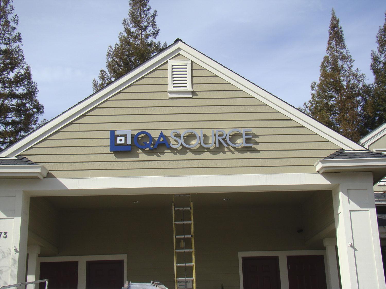 Halo Channel Aluminum Signs installed in Pleasanton CA