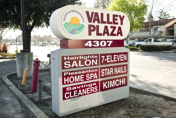 Tenant Monument sign created in Pleasanton