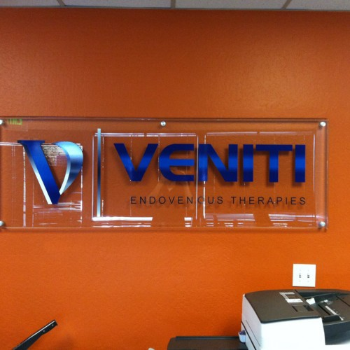 Veniti Lobby Sign in Pleasanton, CA