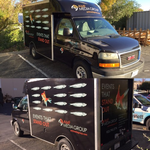 example of custom box van wrap