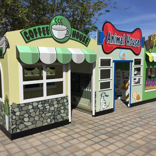 Celebration School Playhouse produced by T Bennett Graphics in Pleasanton, CA