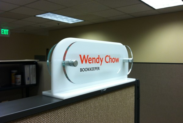 custom nameplate production in Pleasanton
