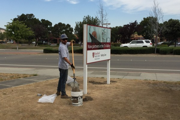 Marketing Sign Production in Pleasanton, CA