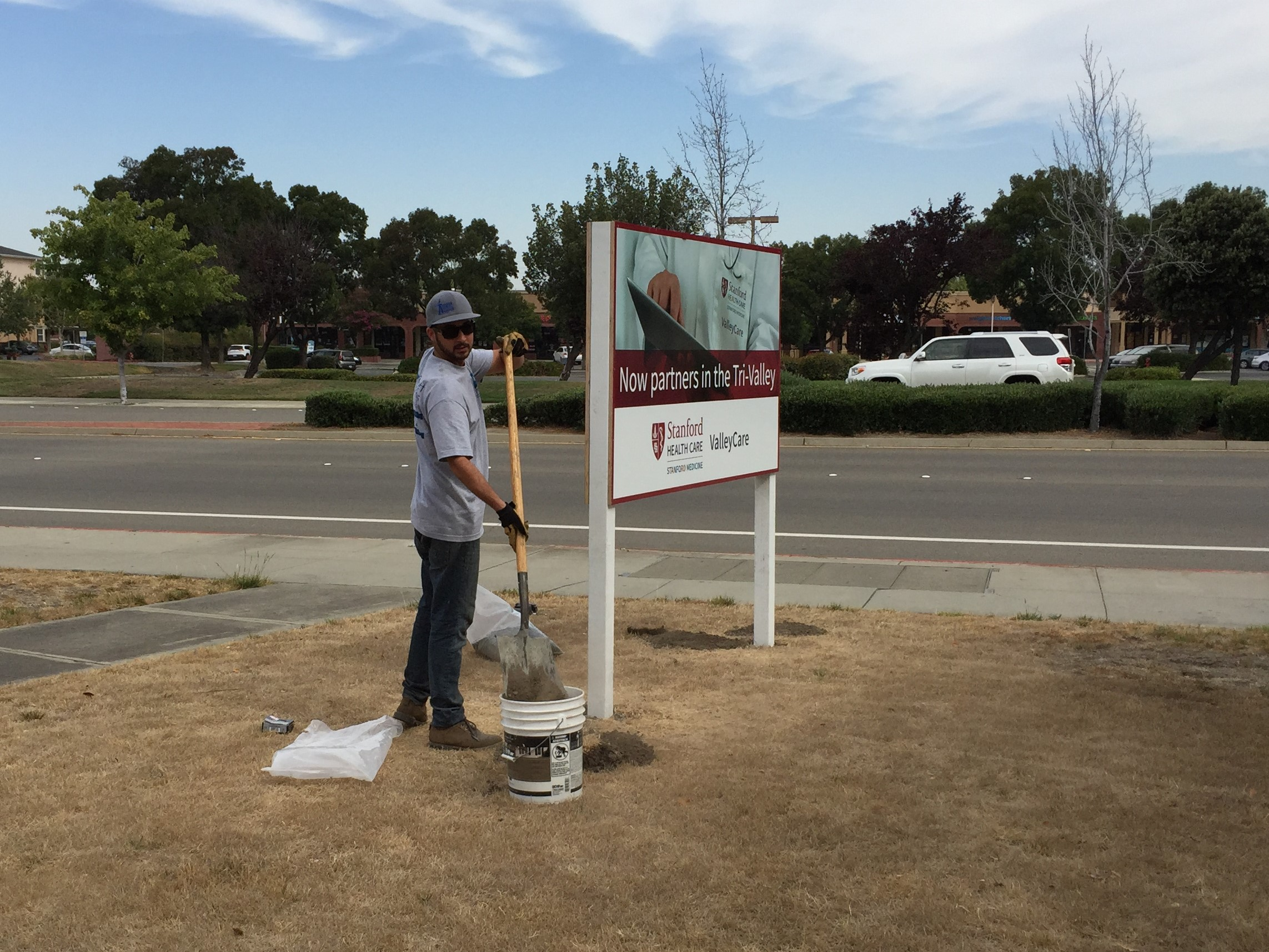 Marketing Sign Production in Pleasanton, CA