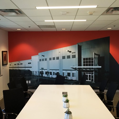 custom office wall graphics in pleasanton